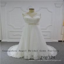 Perfektes Design mit Top Lace Brautkleid