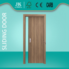 JHK-F Cheap Sliding Wood Double Flush Door