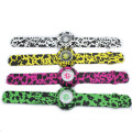 Full colorful printed products silicone slap wristwatches(luopeng)