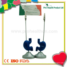 Stomach Shape Medical Promotional Metal Memo Clip