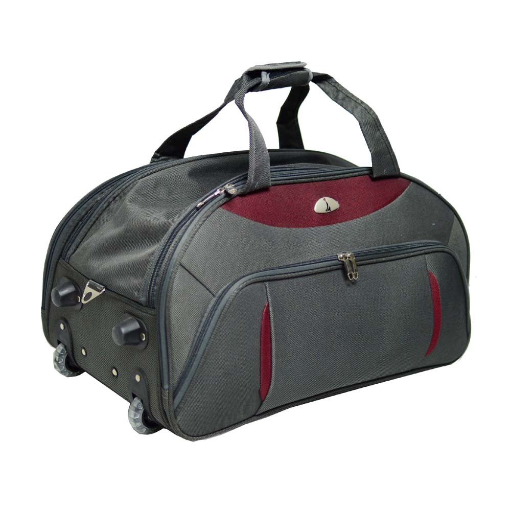 Wheeled Trolley Duffle Bag