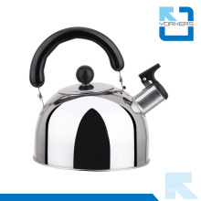 Flat Bottom Tyle Acier inoxydable Whistling Kettle and Water Kettle