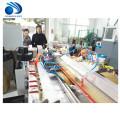 Les portes en plastique de PVC PE WPC encadrent le profil faisant la machine d'extrusion