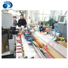 Perfil plástico del marco de las puertas de ventanas del PVC PE WPC que hace la máquina de la protuberancia