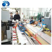 Plastic PVC PE WPC windows doors frame profile making extrusion machine