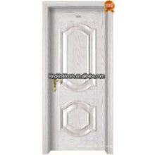 Top 1 vendas China aço de madeira Interior porta residencial porta interna rei-05