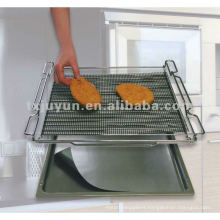 Non-stick BBQ Baking Mesh Reusable mesh baking sheet