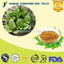 Organic Veratrine Veratrum nigrum Extract/Veratrine powder