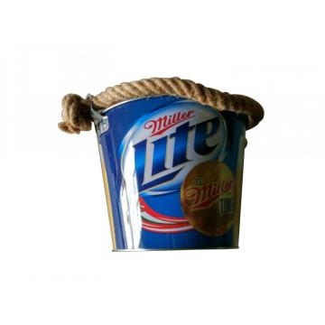 Rope Handle Ice Bucket