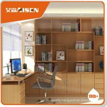 Good service wooden bookcase design