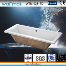 High Quality Simple Drop-in Bathtub (WTM-02817D)