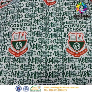Tessuto uniforme scuola stampato