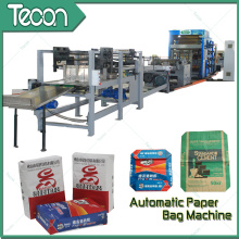 Bolsa de papel completamente automática y fácil que hace la máquina