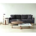 Modern Simple Japanese Sectional Furniture Living Room Corner Sofa Fabric Sofa