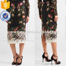 Nova Moda Floral Impressão De Seda Verão Mini Saia Diária DEM / DOM Fabricação Atacado Moda Feminina Vestuário (TA5018S)