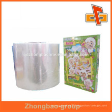 Plastic packaging custom size shrink wrap bags for puzzle