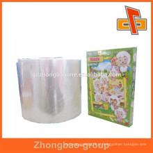 Embalagem de plástico tamanho personalizado shrink wrap sacos para quebra-cabeça