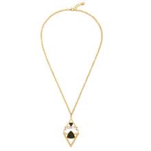 Collar señoras diamante triángulo