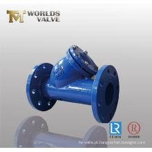 Filtro de ferro fundido dúctil tipo Y (GL41-10 / 16)