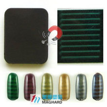Magnetic Magic Nail slice with different patterns