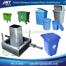 taizhou round plastic injection dustbin mould maker
