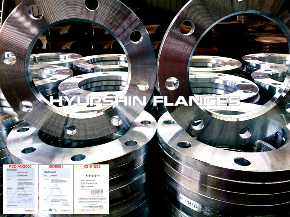 Hyupshin Flanges Iso9624 Lap Joint