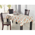PVC Material Tablecovers with Fabric Technics Backing
