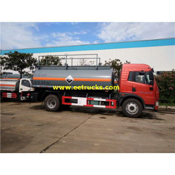 180hp 9000 litres H2SO4 camions-citernes de transport