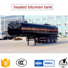 40tons Heated Bitumen Tank Trailer Asphalt Equipment for Sale