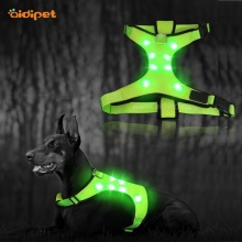 Dog Walking Harness With Led Light