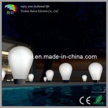 LED Round Illuminated Floor Lamp