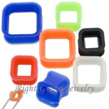 Großhandel Flexible Ohr Haut Silikon Ohr Tunnel Piercing
