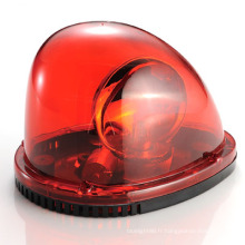 Halogène LED lampe d'avertissement balise (HL-103 rouge)