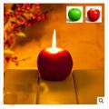 Hottest Night Light Apple Candle Night Light Lamp