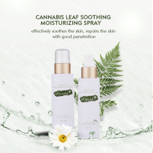 OEM Private Label Wholesale Organic Water Soluble Cbd Soothing Calm Pain Relief Relax Skin Toner Hemp Toner Cbd Water Face Spray