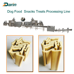 Doppelschnecken-Multi-Form Hund Snacks Extrudieren Maschine