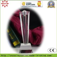 Médaille de cristal de haute qualité peut personnaliser le logo