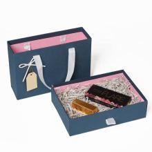 Wholesale Custom High Quality Cardboard Drawer Gift Box With Handle