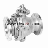2 PC Cast Body Trunnion-Mounted Ball Valve (Q47)
