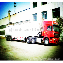 3 axles cement truck trailer / bulk cement powder trailer/ cement transport truck trailer / powder transportation trailer
