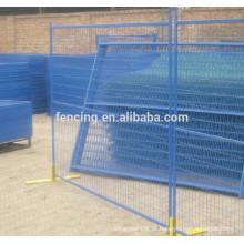 Cerca provisória azul durável da rede de arame da segurança da alta qualidade