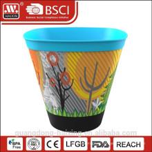 Hot venda no molde rotulagem vaso plástico