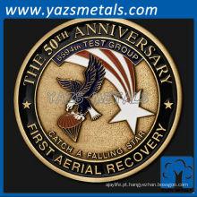 personalize o 50º aniversário do metal - Primeira recuperação aérea