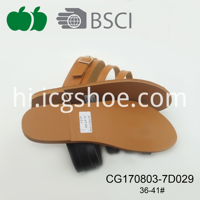 pu fashion slippers