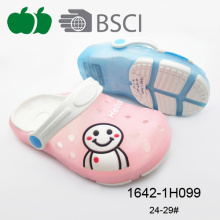 Hot Design Kids Flat Cheap Cute Summer Eva+Pvc Garden Clogs