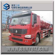 20000L Sinotruk HOWO 6X4 Camion citerne à aspiration d'eaux usées