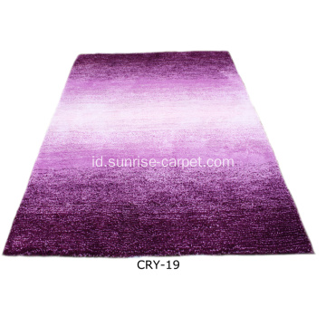 Karpet Warna Mikrofiber Shadding