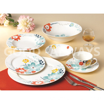 New Bone China Blumengeschirr Set