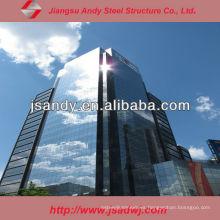 Muro Cortina de Vidrio Estructural prefabricado Precio para 2017
