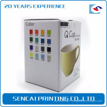 Tasse à thé personnalisée SenCai pliage boîte de papier d'emballage